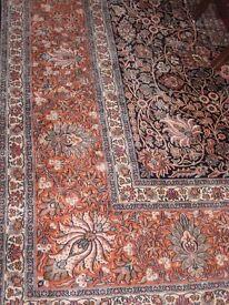 Stunning Kashmiri Silk Rug - original cost £7500