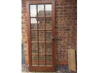 DOOR sold wood 78X30 //COULD DELIVER//