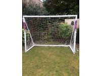 7 a side samba goal net has a couple of small holes apart from that in good condition .