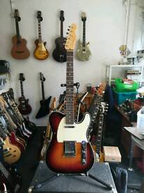 Fender American Telecaster Deluxe with upgraded pickups and electrics