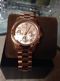 MICHAEL KORS WATCH AND BANGLE