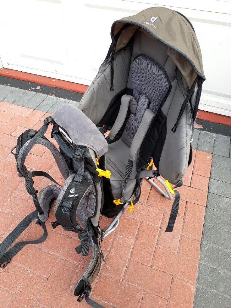 b85a7de85d3 Deuter Kid Comfort III child carrier   backpack