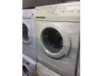 nice white Siemens washing machine 6kg 1200 spin in great condition in full working order