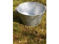 Large ice bucket ideal for garden BBQ man cave etc
