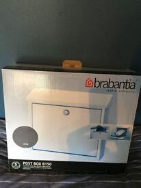 Postbox wall mounted . Brabantia Grey .