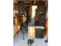Peavey HiSys powered PA system