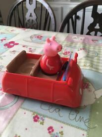 Peppa Pig weeble and car
