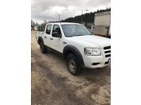 Ford ranger 4x4 crew cab 59 Reg 146k miles not March 2018 been used on a farm...