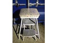 Retro step stool FREE DELIVERY PLYMOUTH AREA
