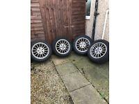 """BMW 16""""Alloys wheels"""