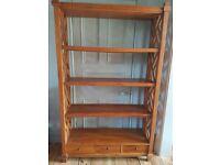 Fairtrade Teak Bookshelf For Sale