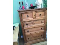 Tall Pine Chest of Drawers