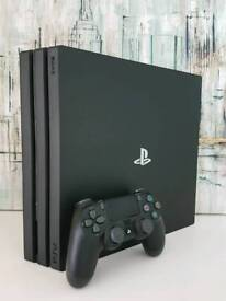 Sony PlayStation 4 PRO 1TB Boxed * Mint *