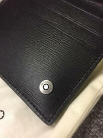 Stunning Genuine MONT BLANC card Wallet BNIB Christmas Gift SDHC