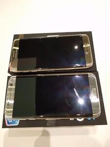 Brand New unlocked Samsung S7 Edge LTE AWS Dual SIM Gold Platinum