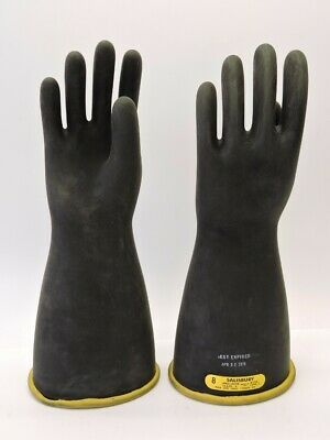 Salisbury Electrical Gloves D120 Type I 17000v Ac Size 8 Expired 42015