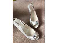 Wedding shoes / bridal shoes size 3