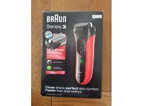 Braun shaver- trimmer