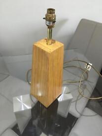 John Lewis Wooden Lamp Base