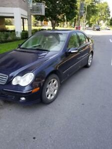 MERCEDES BENZ C280 C 280 AWD 2007 ALL PARTS FOR SALE PART OUT TOUES LES PIECES A VENDRE PIECE USED USAGE