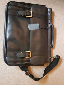 Kenneth Cole Leather Laptop bag BRAND NEW