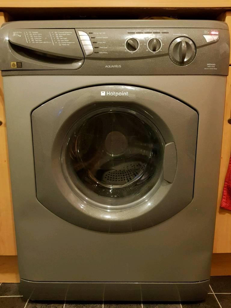 Hotpoint wd440 washing machine and dryer