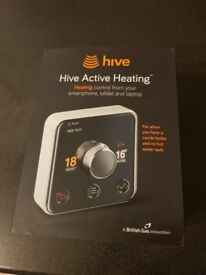 BRAND NEW Hive Active Smart Central Heating Thermostat - FULL KIT