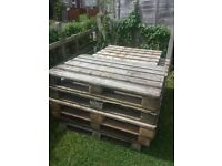 FREE wooden pallet / crates free to collect