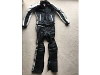 Ladies Hein Gericke Motorcycle Jacket and Trousers Size 10