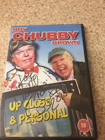 Roy chubby brown signed DVD by himself never used