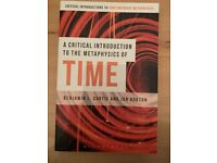 A Critical Introduction to the Metaphysics of TIME Nord - Hamburg Barmbek Vorschau