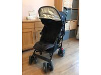 Maclaren techno xt buggy/stroller in black. With rain cover. Very good condition