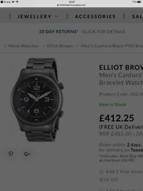Elliot Brown canford mens watch immaculate condition