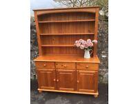 Gorgeous large pine dresser