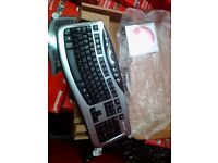 Microsoft wireless laser desktop 3000 keyboard. Keyboard and software ONLY