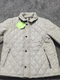 BURBERRY QUILTED JACKET UNISEX AGE 8