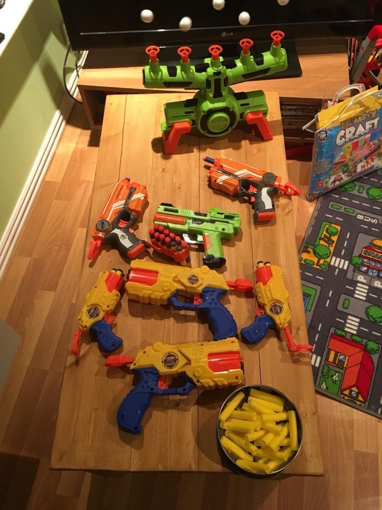 Kids Dart Guns including Nerf Guns & Hoverball Target Game. | in ...