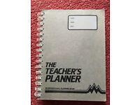 Teacher's Planner Spiral Bound