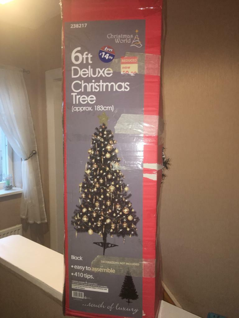 NEED GONE ASAP MOVING HOME Two boxed 6ft Christmas trees