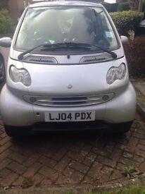 Smart car silver 80,000 miles