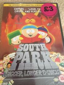 DVD South Park DVD's Christmas complete season 15 and bigger longer uncut!