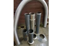 Stove chimney kit.