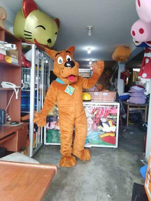 Scooby Doo Character Costume Cosplay Mascot Brown
