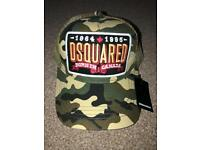 Dsquared2 camouflage cap