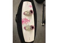 Liquid Force Wakeboard with Ronix Bindings Brand new