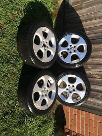 "17"" bbs monza wheels - 5x112"
