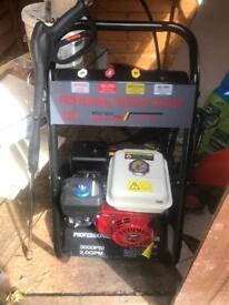 Brand new petrol pressure washer