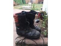 Tree hog chainsaw boots
