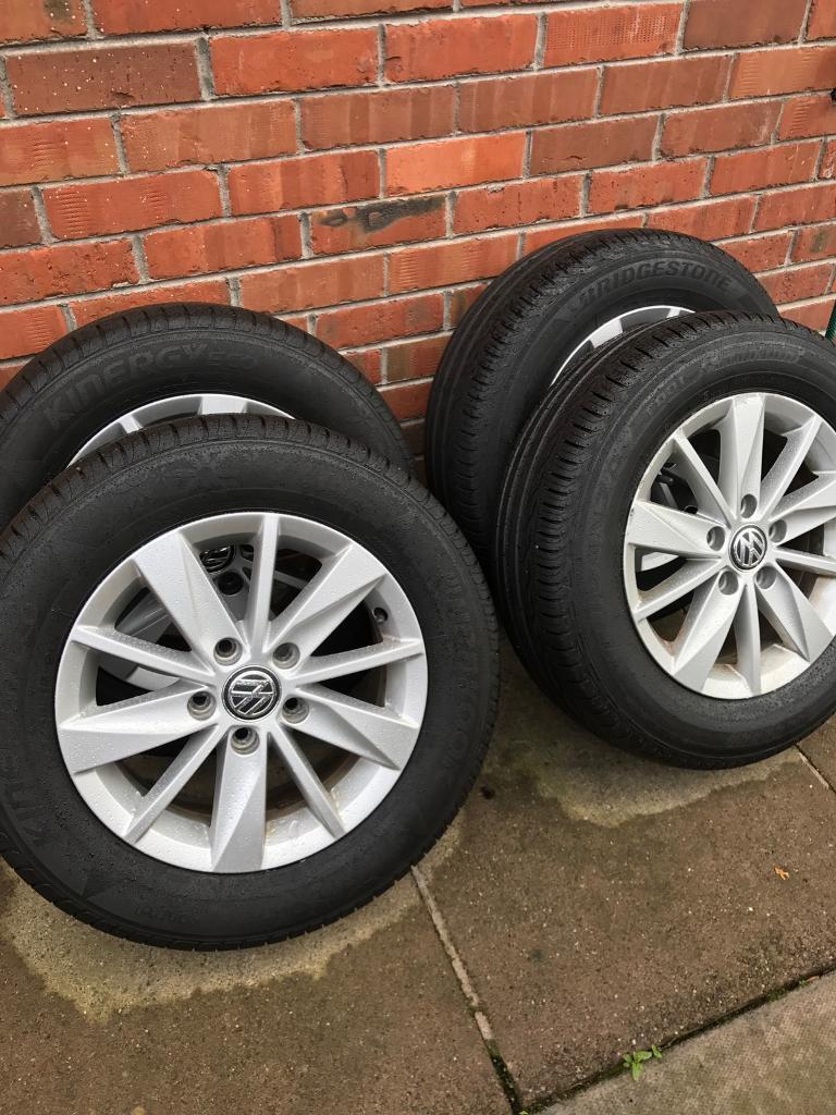 Volkswagen Caddy Alloy Wheels 15 Inch