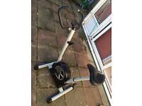 Exercise bike £5